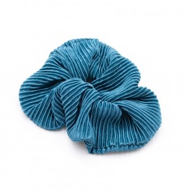 Scrunchie Le mosch Tyrkis blue-20